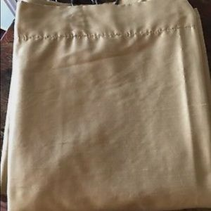 Pottery Barn Silk Duponi Lined Drapes